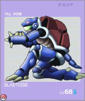 Pokedex Project: Blastoise by ember-reed
