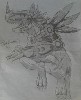 Metalgreymon by 1The-God-Of-Art