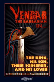 Vengar the Barbarian - Ebook Cover by Spectre-7