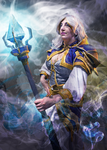 Jaina Proudmoore, Leader of the Kirin Tor by jekylnhyde