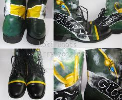 Loki Boots Finished by starryeyedgleek