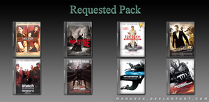 Requested DVD Icons 3 by manueek