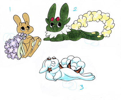 Dyst Bunnies Batch 1 by Zwaa