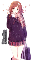 [Render #40] Anime Girl by hina-chanxd