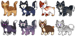 Batch of Colors :OPEN: by PilusAdopts