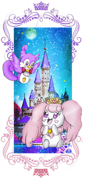 Aroma and Pafu Bookmark Design by SophieStinsonRandom