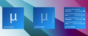 uTorrent Panel for Omnimo 2 by brbk