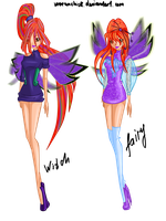 Varanta - Witch and Fairy new look by werunchick
