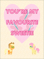 Applejack's card by bronybyexception