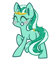 [Closed] Sea Foam Tiara Adopt by xBeautifulDreamerx