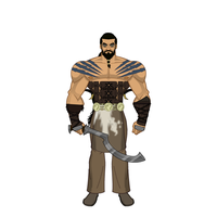 Khal Drogo - Game of Thrones by Carcharocles
