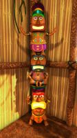 Totem Pole by Teh-Scotty