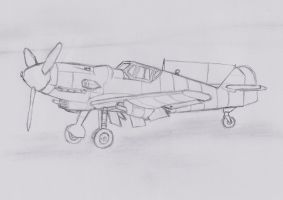 Bf-109 for Dingo by PatchKatz