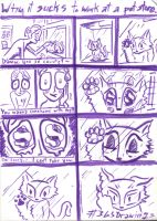 365 Drawings: Jan 7th, Kitty Rage by TheTomFace