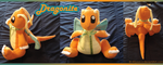 Dragonite Plushie by Allyson-x