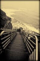Surfers Stairs by Bartonbo