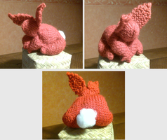 Fat bottomed bunny by knotsme