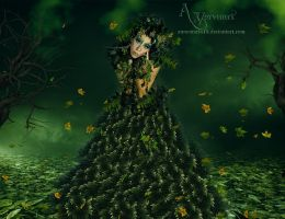 The Leaf Women by annemaria48