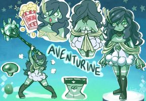 Gemsona: Aventurine by Linkerbell