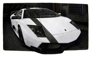 Lamborghini Murcielago by LOLLIPOP007