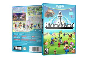 Wii U Nintendo Land Fan Made Alternate Box Art by CapuchinoMedia
