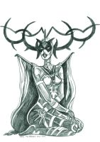 Daily Sketches Hela by fedde