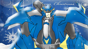 Christmas Card (Dreadwing) by Phuong-Linh