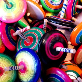 spinning tops I by 1510