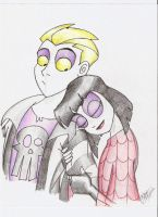 BJ n Lydia: young love by Aeolus06