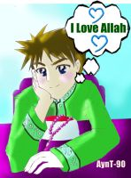 I Love Allaah by AynT-90