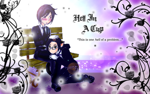 KS2: Hell In A Cup + SebClau + by foxy-kyuubi