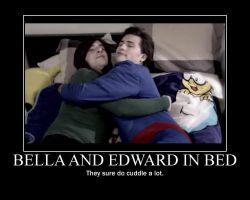 Smosh Bella and Edward in Bed by htfman114