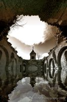 Flooded Church by bobicar