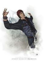 inFAMOUS Second Son - Delsin Rowe by BrokenNoah