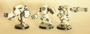Tau Battlesuits by gowsk