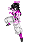 Gogeta Recolor (All Purple) by XxExtremeSamX