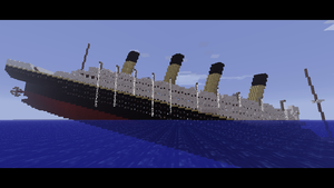 Minecraft - Titanic by Ludolik