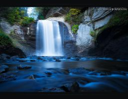 Looking Glass Falls by MRBee30