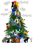 Epic Christmas tree by Sisa611