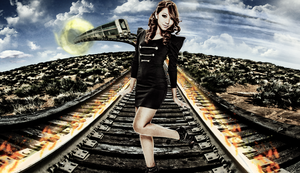 Tracks to the Sky by chronoxiong