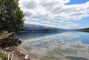 Lake Dunstan Above Cromwell by firouz222