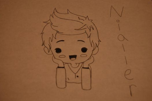 Niall Horan Cartoon by QuarantinedRoses15