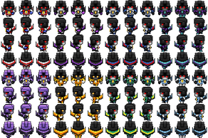 Seeker Sprites by WaywardInsecticon