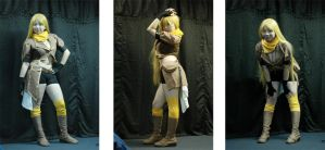 Yellow Cosplay WIP by akahime-chan