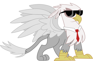 My Griffon OC by LusterPurgEon