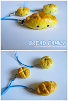 Assorted Bread Charms by stereometric