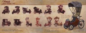 concept for 3D short - vehicle by loboescarlata