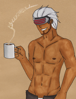 HOT COFFEE for StupidGenious XD by cookiepianos