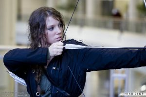 Katniss Everdeen 03 by thirdstop
