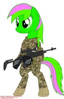 [request] spring-flower12's OC US army infantry by orang111